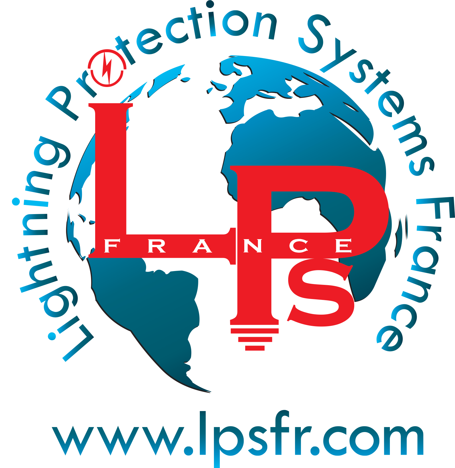 Lightning protection system france logo
